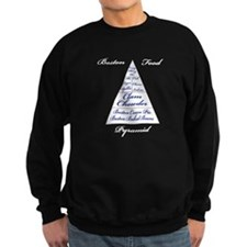Boston Food Pyramid Sweatshirt