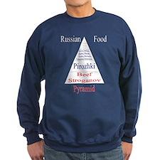 Russian Food Pyramid Sweatshirt