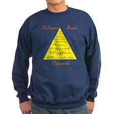 Belgian Food Pyramid Sweatshirt