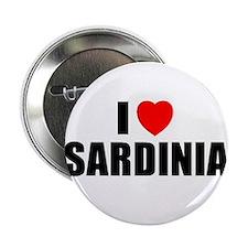 I Love Sardinia, Italy Button