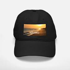 Gratitude Beach Sunset Mantra Baseball Hat