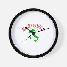 Sardinia, Italy Wall Clock