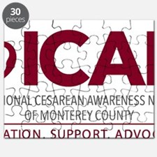 ICAN of Monterey County Logo Puzzle