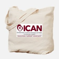 ICAN of Monterey County Logo Tote Bag