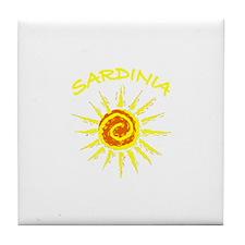 Sardinia, Italy Tile Coaster