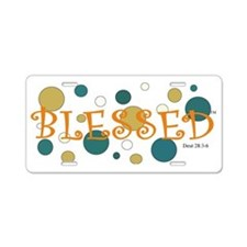 Blessed- Adult Aluminum License Plate