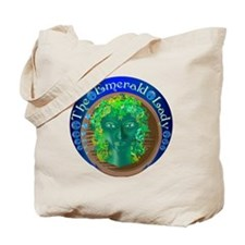 The Emerald Lady Tote Bag