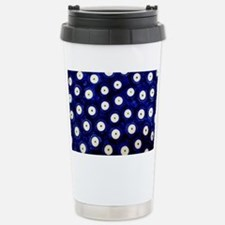 Polish Pottery Polka Do Travel Mug
