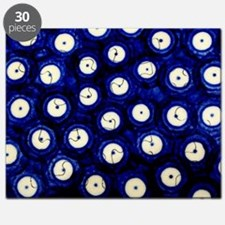 Polish Pottery Polka Dots Puzzle