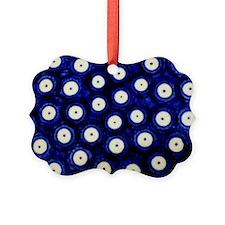 Polish Pottery Polka Dots Ornament