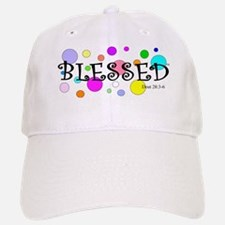 Happy and Blessed Baseball Baseball Cap