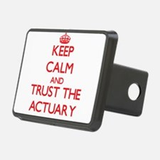 Keep Calm and Trust the Actuary Hitch Cover