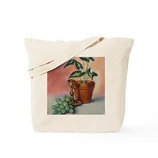 Grapes and plant still life Tote Bag