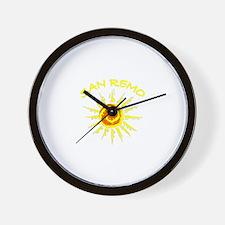 San Remo, Italy Wall Clock
