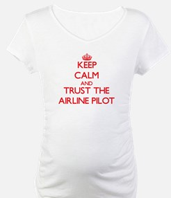 Keep Calm and Trust the Airline Pilot Shirt