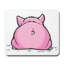 Frankie Pig Mousepad