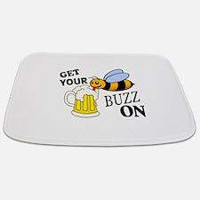 Get Your Buzz On Bathmat