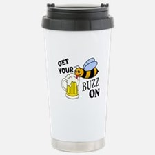 Get Your Buzz On Travel Mug