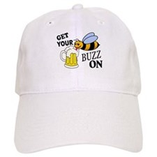 Get Your Buzz On Baseball Baseball Cap