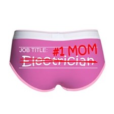 Job Mom Electrician Women's Boy Brief