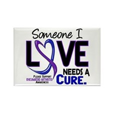 RA Needs a Cure 2 Rectangle Magnet