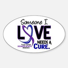 RA Needs a Cure 2 Decal