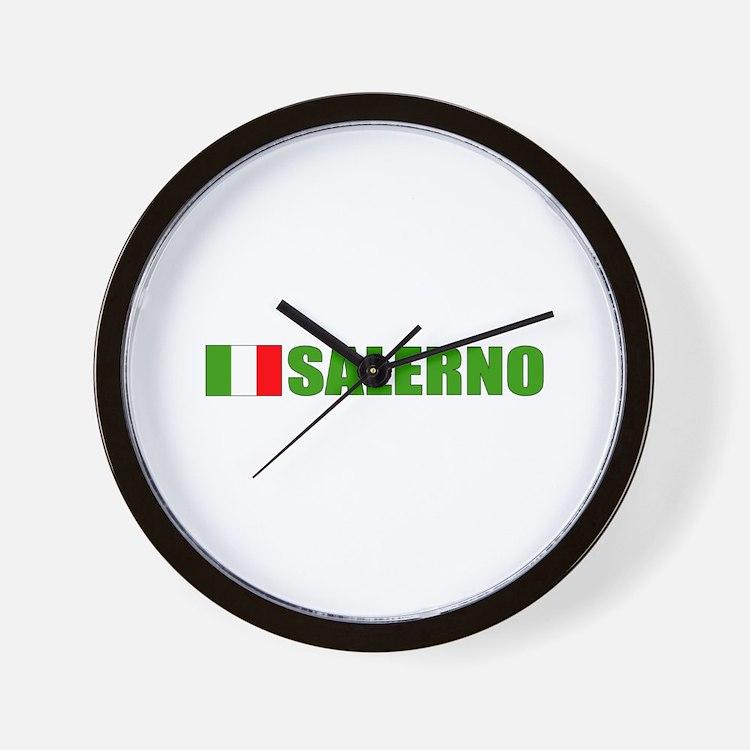 Salerno, Italy Wall Clock