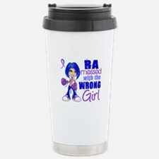 RA Messed With Wrong Travel Mug