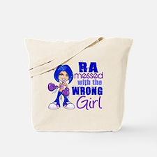 RA Messed With Wrong Tote Bag
