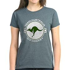 Team Australia Ice Hockey Travel Stamp T-Shirt