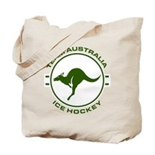 Team Australia Ice Hockey Travel Stamp Light Tote