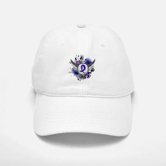 RA Grunge Ribbon Wings Hat