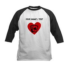 Custom Poker Heart Baseball Jersey