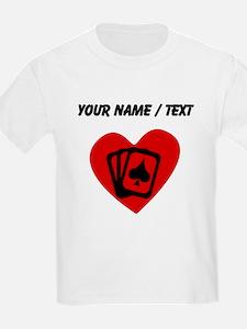 Custom Poker Heart T-Shirt
