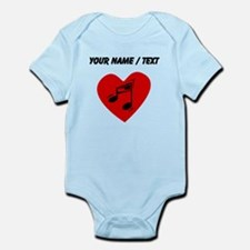 Custom Music Heart Body Suit