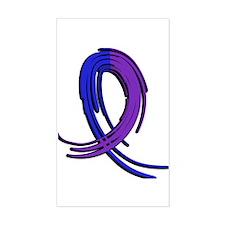 RA Graffiti Ribbon 2 Decal
