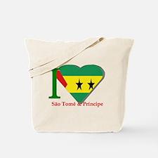I love Sao Tome Tote Bag