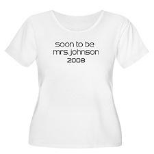 Soon To Be   MRS.JOHNSON  200 T-Shirt