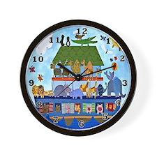Noahs Ark Wall Clock
