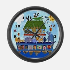 Noahs Ark Large Wall Clock