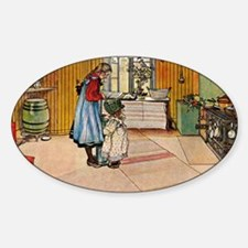 Carl Larsson - The Kitchen Decal