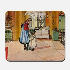 Carl Larsson - The Kitchen Mousepad