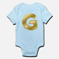 Gold Letter G Body Suit