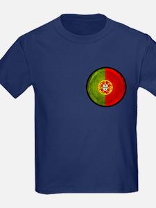 3D Portugal flag T-Shirt