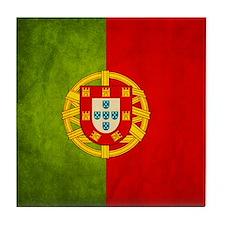 3D Portugal flag Tile Coaster