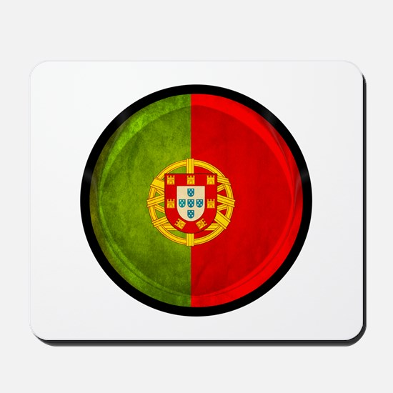 3D Portugal flag Mousepad