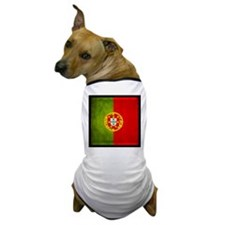 3D Portugal flag Dog T-Shirt