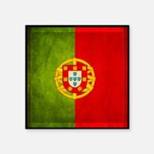 3D Portugal flag Sticker