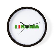 Roma, Italia Wall Clock