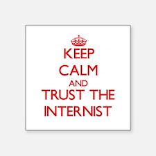 Keep Calm and Trust the Internist Sticker